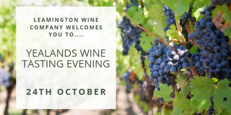 Yealands Wine Tasting Evening  tickets