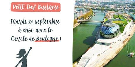 Petit Dej' Business à Boulogne billets