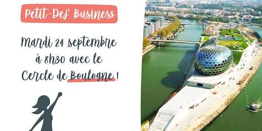 Petit Dej' Business à Boulogne
