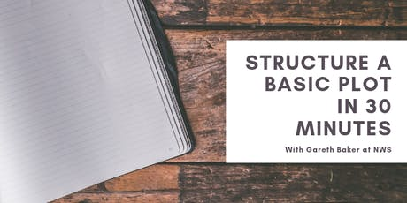 Structure a Basic Plot in 30 Minutes tickets
