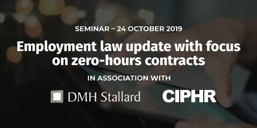 Free employment law update, Thursday 24 October