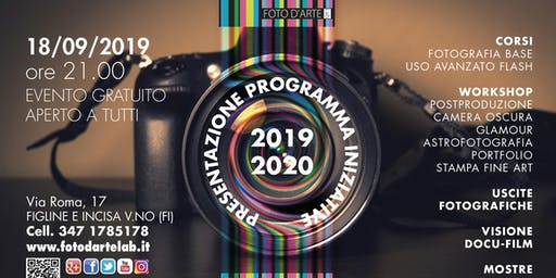 OPEN DAY FOTODARTE Lab 2019