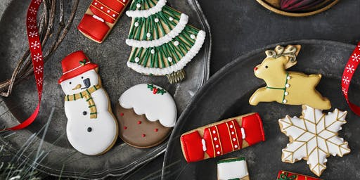 Biscuiteers Icing Lates - Happy Christmas - Northcote Road
