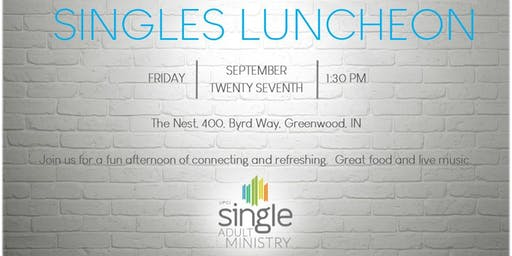 Singles Luncheon - UPCI General Conference 2019