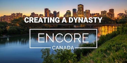Creating A Dynasty Encore in Edmonton, Canada
