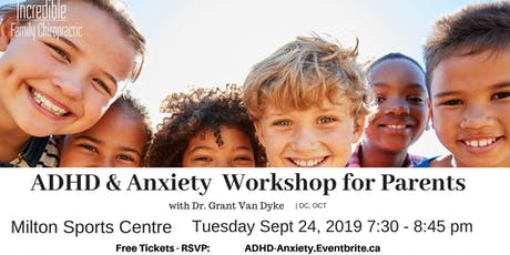 ADHD & Anxiety Workshop For Parents  tickets