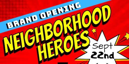 Neighborhood Heroes Pop Up Shop