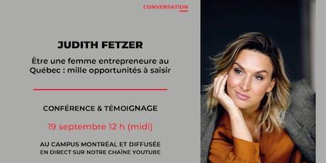Conversation avec Judith Fetzer de Cook it billets