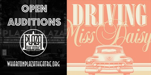 Open Auditions for Driving Miss Daisy