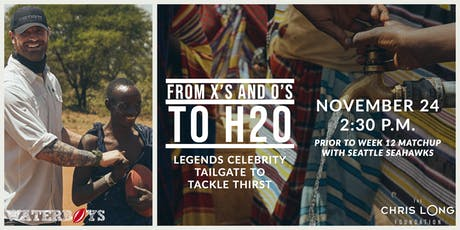 From Xs and Os to H2o: Inaugural Legends Tailgate Party tickets