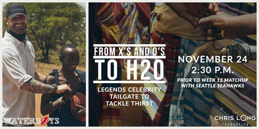 From Xs and Os to H2o: Inaugural Legends Tailgate Party