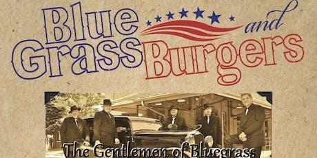 Bluegrass & Burgers tickets