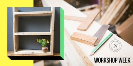 Mini #shelfie workshop tickets