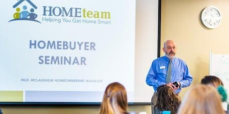 Concord Home Buyer Seminar tickets
