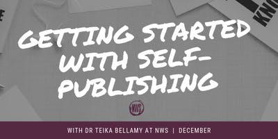 Getting Started with Self-Publishing