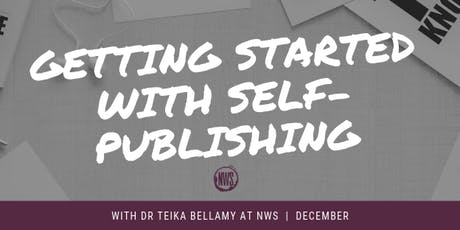 Getting Started with Self-Publishing tickets