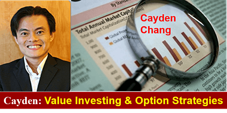 Invited Talk (Value Investing and Option Strategies) by Cayden Chang tickets