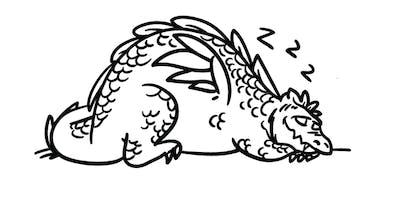 Twilight Tales- Sleepy Dragon