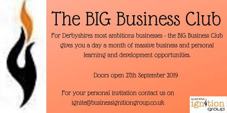 The BIG Business Club tickets
