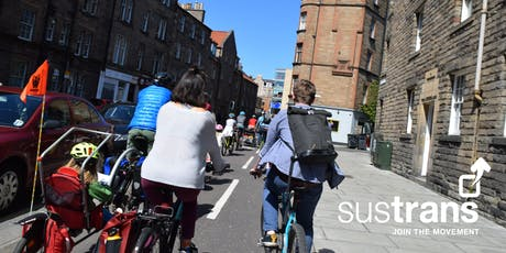 Sustrans Edinburgh Family Rides Open Doors Day Ride tickets