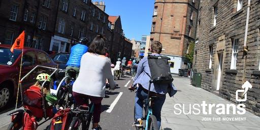 Sustrans Edinburgh Family Rides Open Doors Day Ride