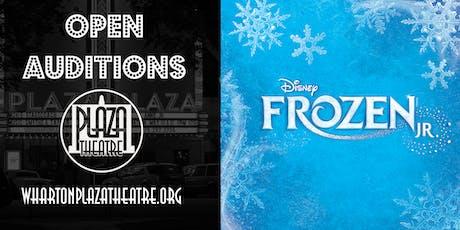 Open Auditions for Disney's Frozen Jr. tickets