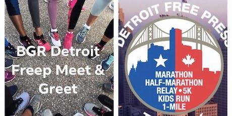 BGR Detroit Detroit Free Press Marathon Meet & Greet tickets