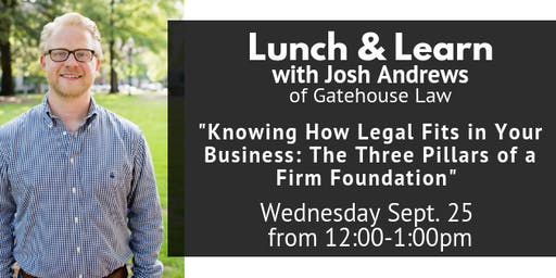 Knowing How Legal Fits in Your Business