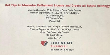 Thrive In Retirement  tickets