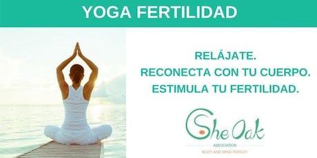 Yoga Terapeutico enfocado a la fertilidad entradas
