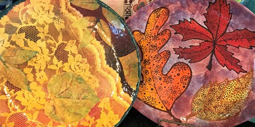 Inspired Leaves Painting Class