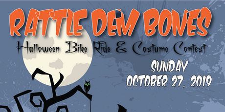 Rattle Dem Bones - Halloween Bike Ride & Costume Contest tickets