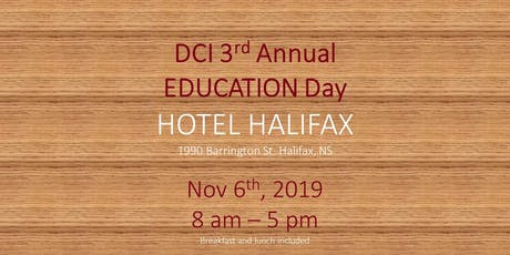 DCI 3rd Annual Education Day tickets