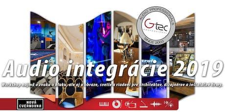 Audio Integrácie 2019 - Workshop o zvuku, hluku, obraze, svetle a riadení tickets