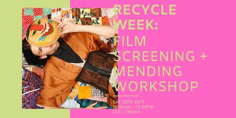 "RECYCLE WEEK: Traid presents Alex Noble ""Who Are the Savs"" + Mending Workshop tickets"