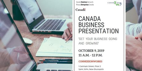 Canada Business Presentation @ ConnexionWorks tickets