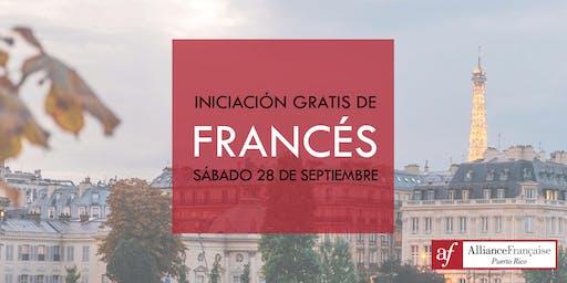 Iniciación Gratis de Francés