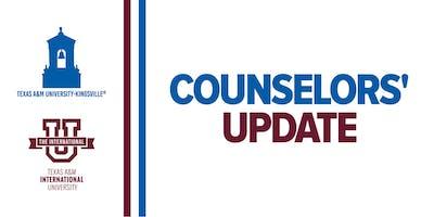 San Antonio Counselors' Update 2019 (TAMUK / TAMIU)