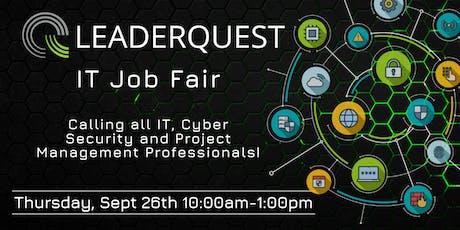 LeaderQuest IT Job Fair  tickets