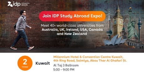 Join IDP Study Abroad Expo in Kuwait! tickets