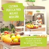 Curso: Cozinha prática para a mulher moderna.