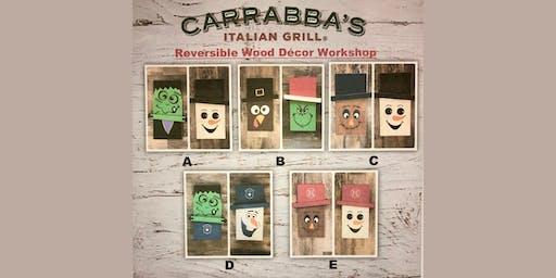 Carrabba's Smithtown Reversible Wood Decor Workshop