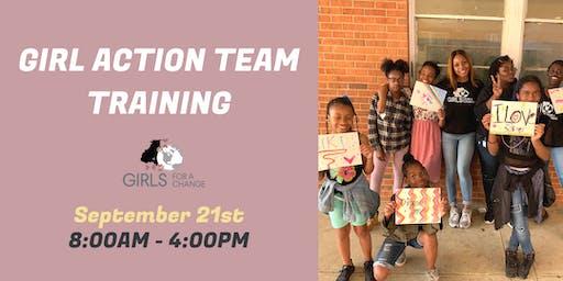 Girl Action Team Training