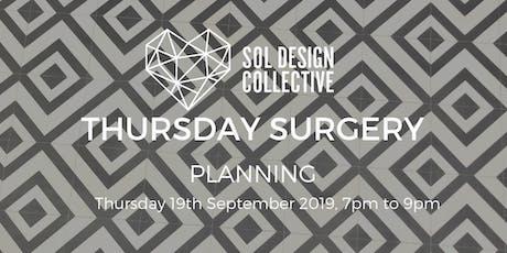 Thursday Surgery - Planning tickets
