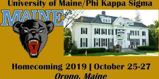 Homecoming 2019 Football Game (Maine v William & Mary)