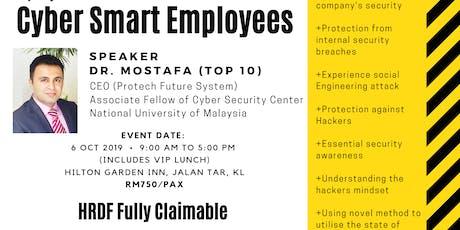 Cyber Smart Employees tickets