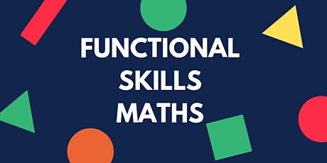 Functional Skills Maths Level 1 Non-Accredited Course tickets