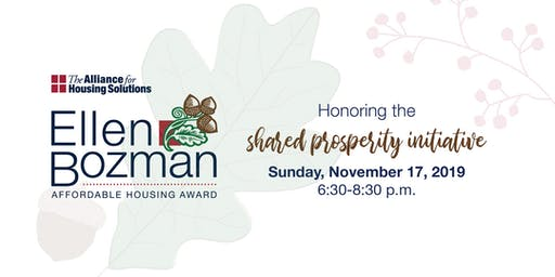 2019 Ellen M. Bozman Awards