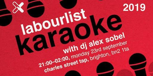 LabourList Karaoke Brighton 2019