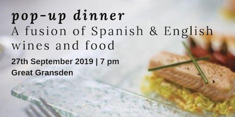 Wine Tasting. England meets Spain / Spain meets England tickets